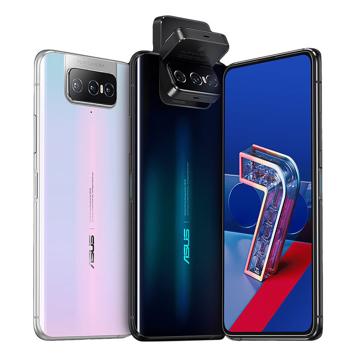 ASUS ZenFone 7 (ZS670KS 8G/128G)前後翻轉三鏡頭5G雙模全頻極速旗鑑級手機
