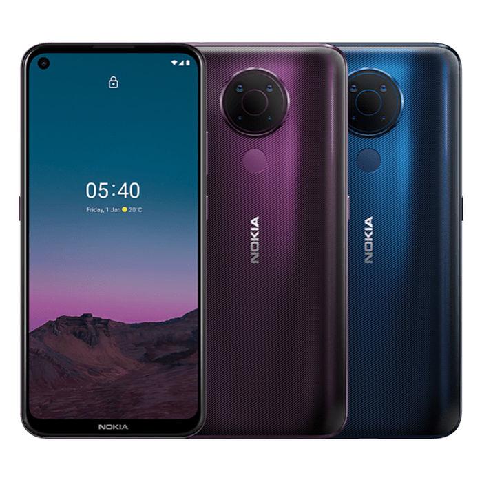 NOKIA 5.4 (6G/64G) 6.39吋大螢幕四鏡頭4800萬智慧型手機