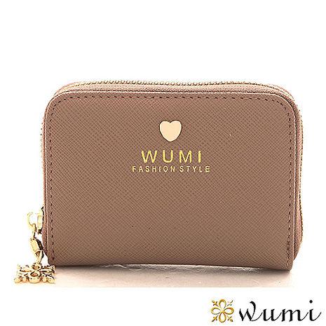 WuMi 無米 蜜拉十字紋卡夾包 樺木杏
