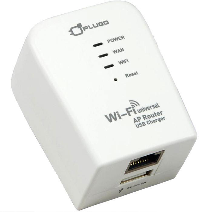 PLUGO普樂購-WR03WH多國用無線分享USB充電器(路由器)-3C電腦週邊-myfone購物