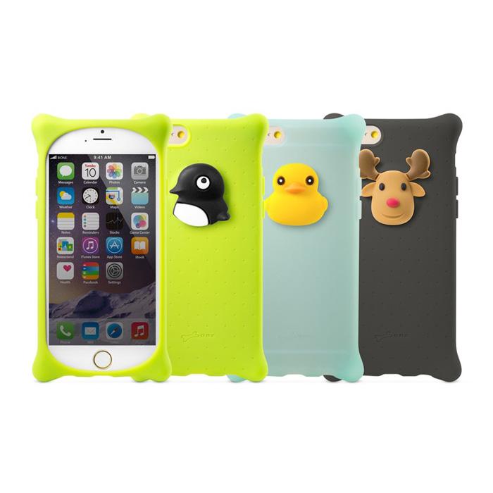 【BONE】for iPhone 6(4.7吋)泡泡保護套【鴨子/麋鹿/企鵝】