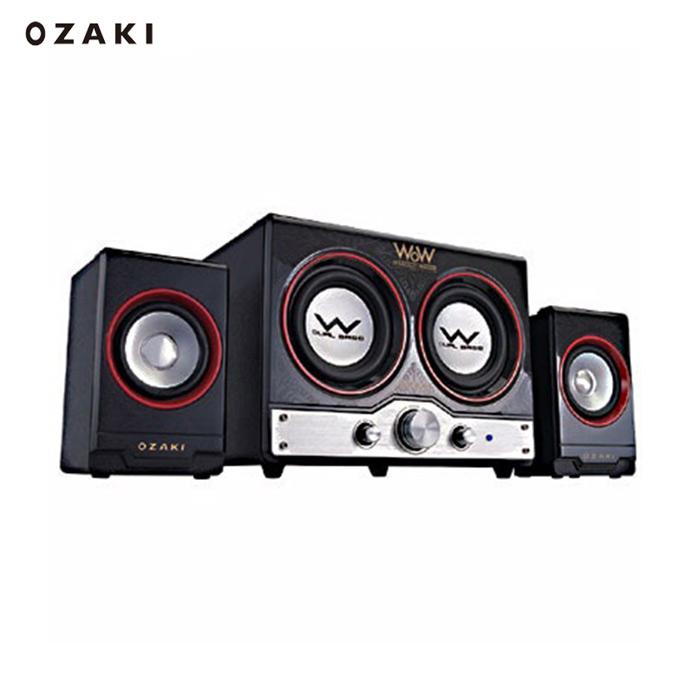 【OZAKI】WW440雙炮享樂機-wow 2.2重低音喇叭