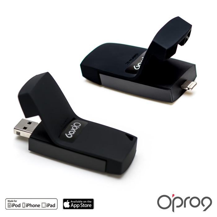 Opro9 iSafeFile G2 蘋果專用插卡式隨身儲存加密碟