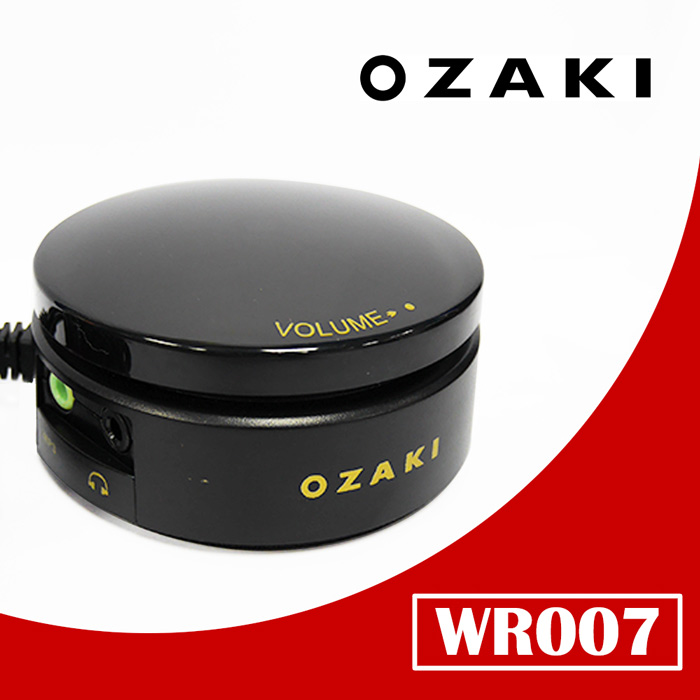 【OZAKI】黑曜版音源線控器(WR007)