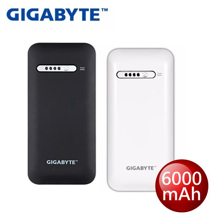 【GIGABYTE 技嘉】RF G60B - 6000mAh 行動電源白色