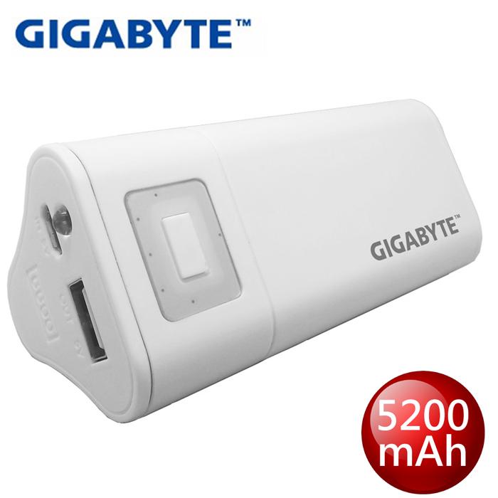 【GIGABYTE 技嘉】5200mAh行動電源(GZ-G52A1)