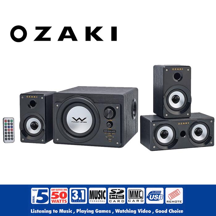 【OZAKI】新一代3.1聲道CS3150R 風潮機喇叭