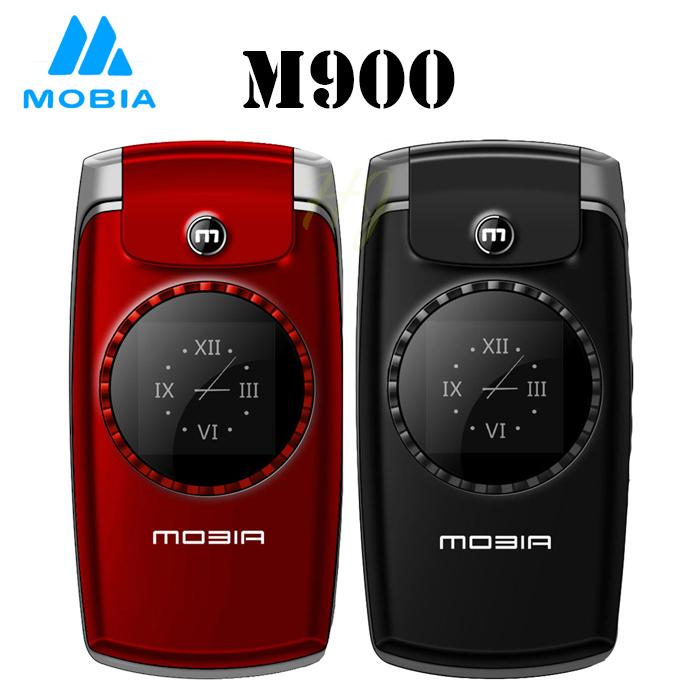 【MOBIA 摩比亞】M900 2.4吋3G無照相摺疊手機(全配雙電池組)紅