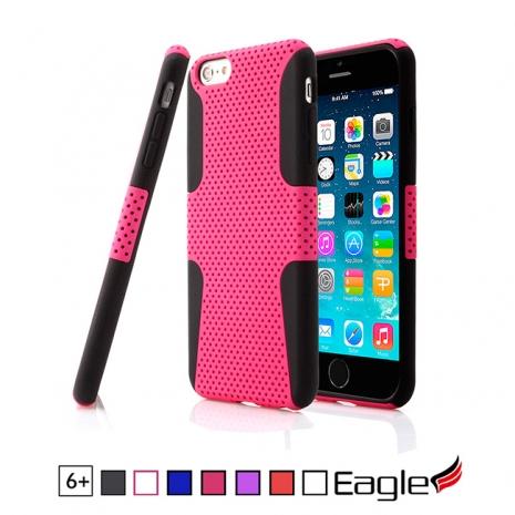 【Eagle 美國鷹】iPhone 6 Plus Mesh Hybrid 網狀雙層保護殼(7色)