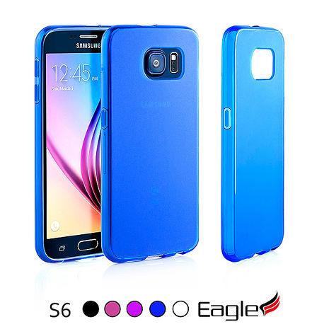 【Eagle 美國鷹】Samsung Galaxy S6 Frost Slim 極薄磨沙TPU軟套(5色)