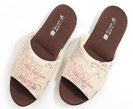 333家居鞋館銀離子抗菌系列家居拖鞋-室內鞋(麻白/麻駝)麻駝M-26cm