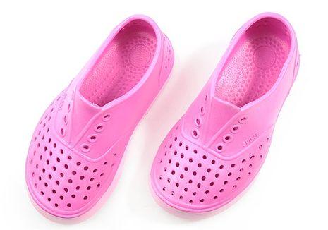 333家居鞋館活力兒童洞洞鞋-休閒室外鞋(桃色)桃 27號(16 cm)