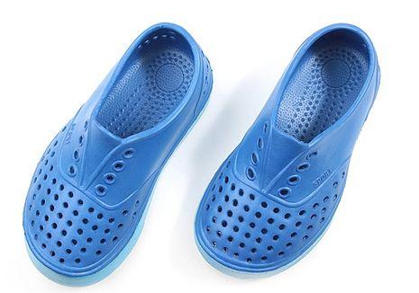 333家居鞋館活力兒童洞洞鞋-休閒室外鞋(藍色)藍 27號(16 cm)