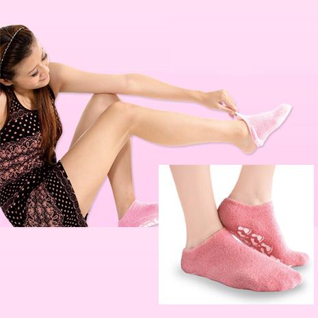 驄豪 足護士 Lets Magic 呵護肌膚SPA腳底全凝膠保養級襪套(輕鬆保養足部 效果佳)