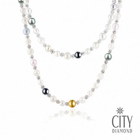 City Diamond引雅 海洋物語(日本珍珠長項鍊)(預購)