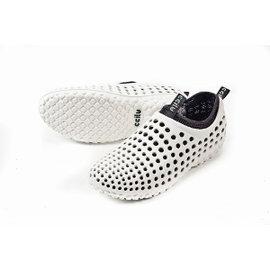 CCILU馳綠 – AMAZON 親水豆豆鞋(女)白 302072012