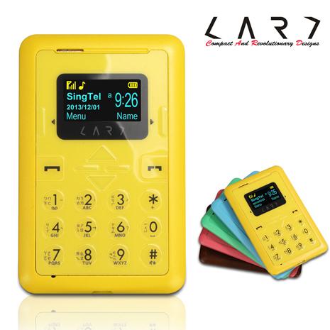 新加坡 CARD Phone New CM1 強襲功能名片機 (芒果黃) 2G