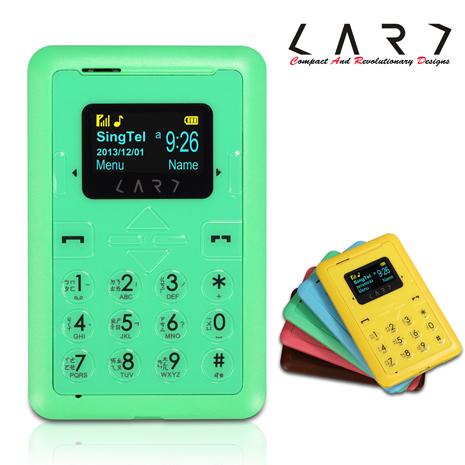 新加坡 CARD Phone New CM1 強襲功能名片機 (薄荷綠) 2G