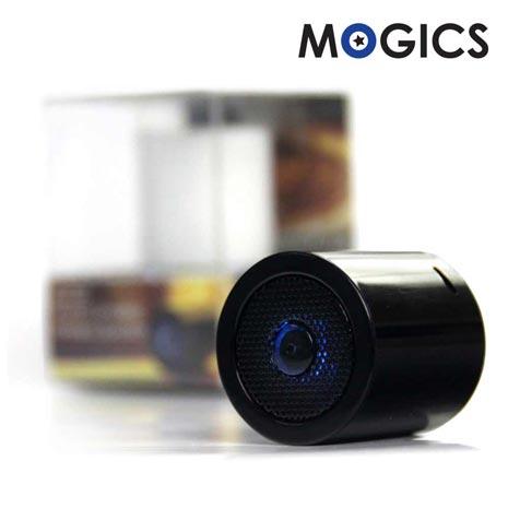 【MOGICS】MS1高音質防水藍牙喇叭天使白
