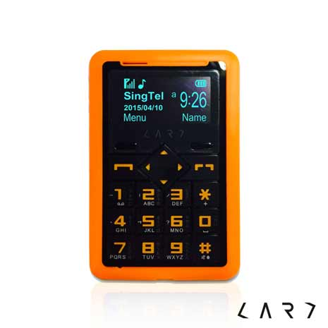 【CARD】CM1 Super 藍牙撥號名片機 (落日橘)