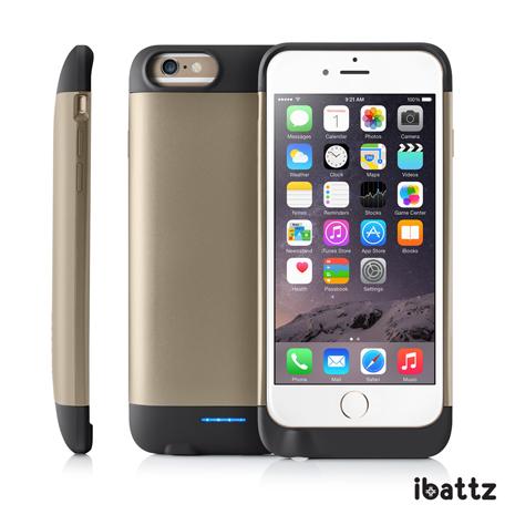 【ibattz】Refuel Invictus iphone 6s/6 電源手機殼 3200 mAh(香檳金)