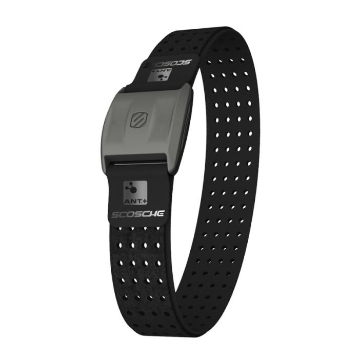 Scosche Rhythm+ 手臂式心跳帶 - 黑色(可搭配Garmin Polar Bryton PAPAGO等GPS手錶或iPhone,Android手機)-戶外.婦幼.食品保健-myfone購物