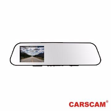 CARSCAM 行車王 RS033 【贈16G卡】 WDR超薄後視鏡行車紀錄器