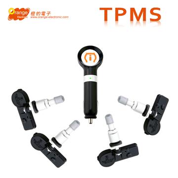 Orange P418【贈3孔擴充器】IPhone專用版 無線胎壓監測系統