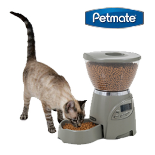 美國Petmate全自動定時餵食器-小