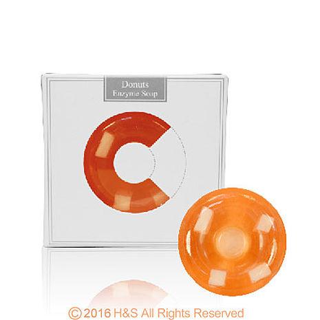 愛草皂甜甜圈酵素美容皂(陽光橘子)單入