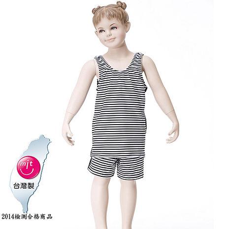 【Bich Loan】夏浪女童泳裝附泳帽13002001EL/LLL