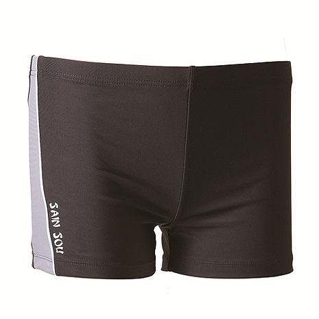 【SAIN SOU】大男彈性三分泳褲加贈泳帽A522052L