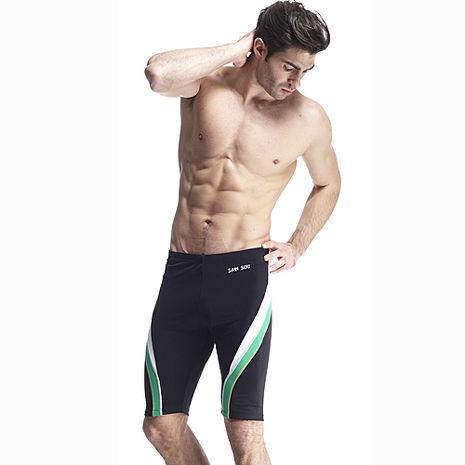 【SAIN SOU】大男及膝泳褲加贈泳帽A55411