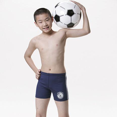 【SARBIS】MIT彈性兒童三分泳褲附泳帽B63103