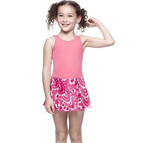 【SARBIS】MIT女童連身裙泳裝附泳帽B8842316-