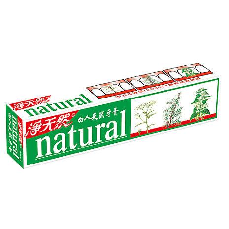 白人天然牙膏144g*6支