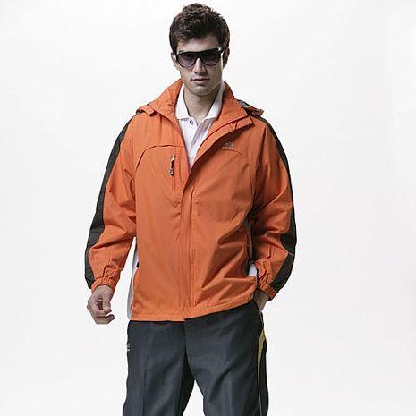 【SAIN SOU】防水/防風/透氣/可拆式防風帽兩件式外套(中性款)T27016