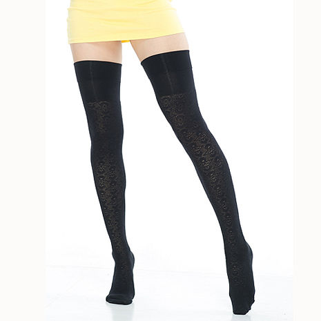 【KEROPPA】流行膝上大腿女襪*2雙(專利產品)92002-C58