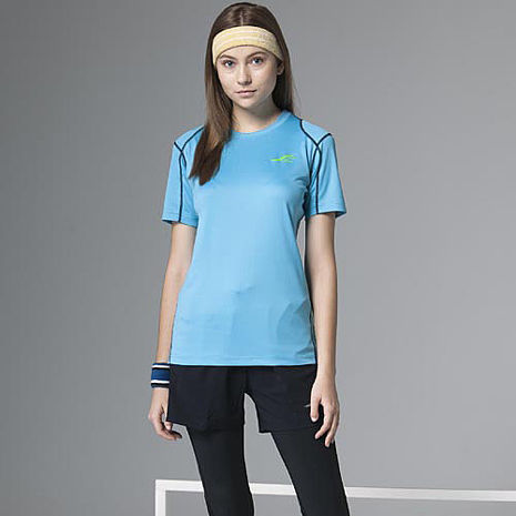 【SAIN SOU】彈性吸排圓領衫T26812-06