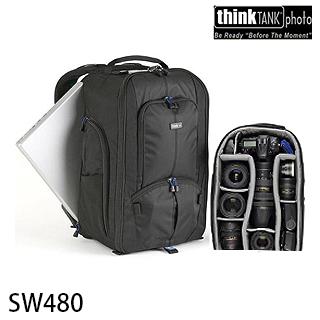 【結帳再折】【thinkTank 創意坦克】StreetWalker(雙肩 後背背包 SW480)