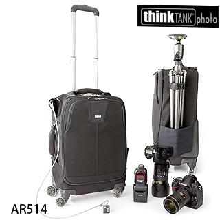 【結帳再折】【thinkTank 創意坦克】Airport Roller Derby 德彼攝影行李箱(AR514)