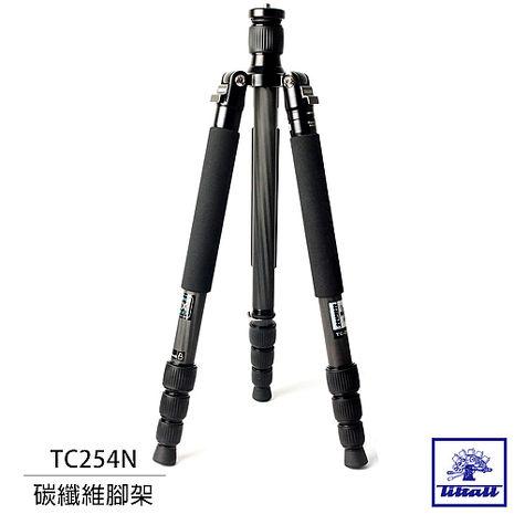 美國 Tiltall 帝特 TC-254N 可反摺 可單腳 碳纖維腳架 碳腳(TC254N)