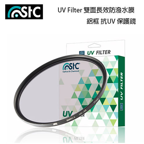 STC 雙面長效防潑水膜 鋁框 抗UV 保護鏡 67mm (公司貨)