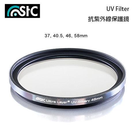 STC 雙面長效防潑水膜 鋁框 抗UV 保護鏡 銀框 58mm(58,公司貨)