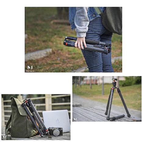 Marsace 瑪瑟士 C15i 碳纖維 反折 旅遊 腳架(公司貨)龍紋特仕版