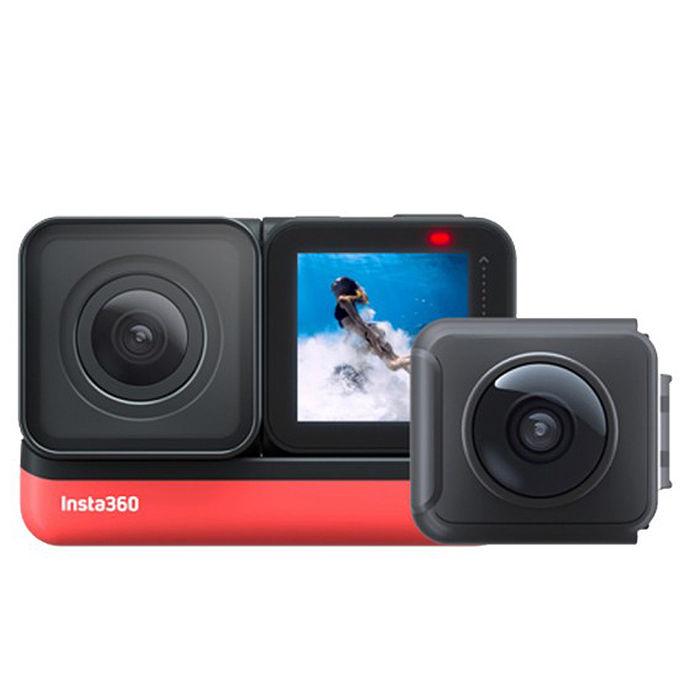 Insta360 One R 雙鏡頭套裝(含4k及全景鏡頭) 360度 運動相機 防水(ONER 公司貨)