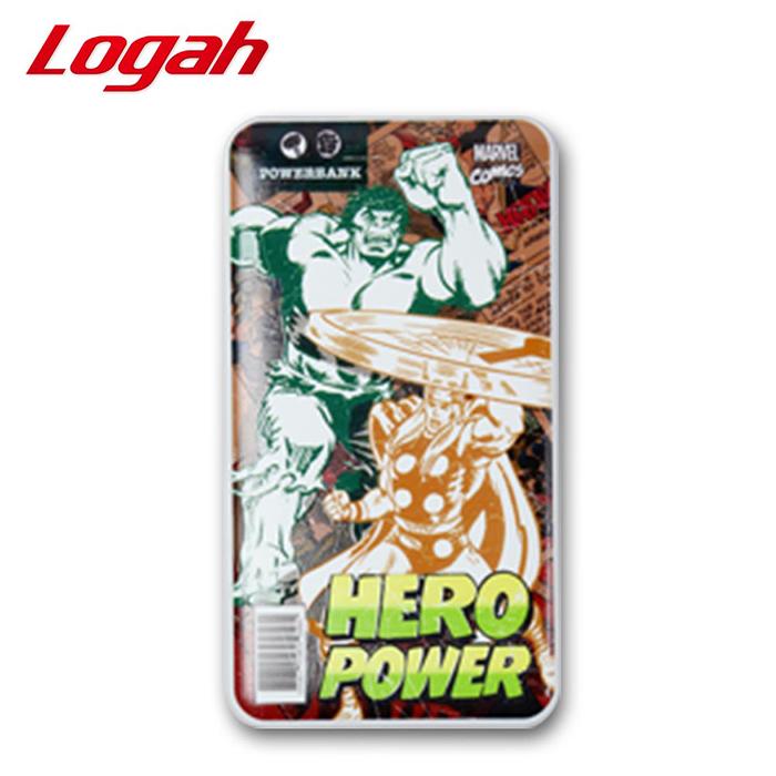 Logah Marvel漫威超級英雄行動電源 9280mAh(雷神索爾+浩克款)