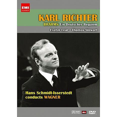 【麗音影音】布拉姆斯-德意志安魂曲/卡爾‧李希特 指揮 (平裝版) DVD