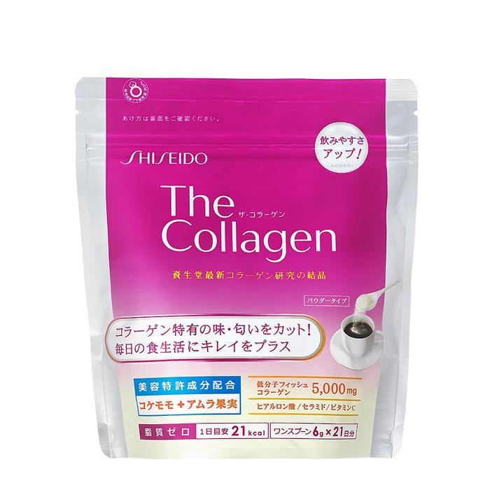 【日本 資生堂】The Collagen低分子膠原蛋白粉(21日份/包)