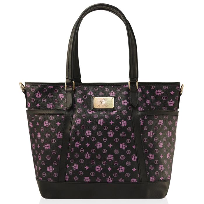 Dennibella 丹妮貝拉 - 紫色皇冠時尚吊帶包-服飾‧鞋包‧內著‧手錶-myfone購物